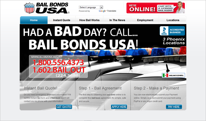 Bail Bonds USA, LLC.