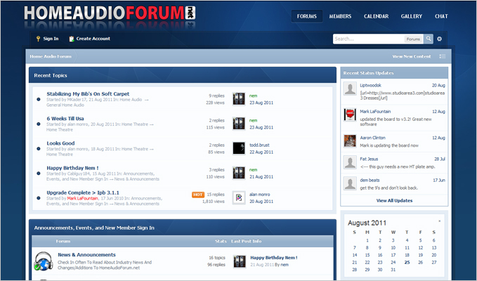 Home Audio Forum